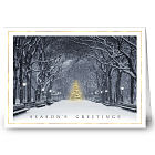 Beauty in the Park Personalized Holiday Card