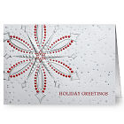 Snowflake Christmas Holiday Card