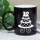Personalized Birthday Cake Two-Tone Mug