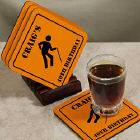 Happy Birthday Personalized Coaster Set