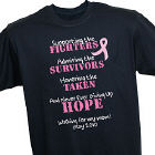 Fighting the Cause Breast Cancer Awareness T-shirt