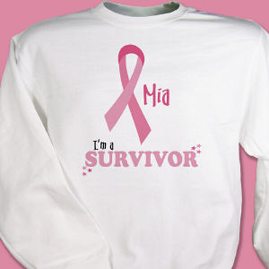 I'm A Survivor - Breast Cancer Awareness Sweatshirt