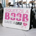 Squeeze a Boob - Breast Cancer Awareness Shoulder Bag
