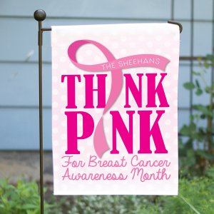 Breast Cancer Awareness Garden Flag 83079352