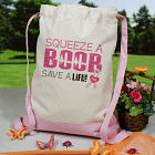 Squeeze a Boob - Breast Cancer Awareness Backpack