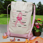 Hope and Love Breast Cancer Awareness Backpack CSP836632PK
