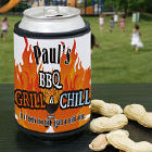 Personalized BBQ Grill Can Wrap Coolers