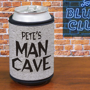 Personalized Man Cave Koozie