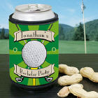 Personalized Golf Can Wrap Koozie
