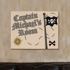 Personalized Pirate Wall Canvas 912924X
