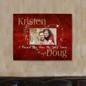 Personalized The One My Soul Loves Photo Canvas