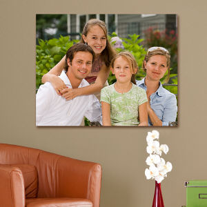 Personalized Family Photo Canvas