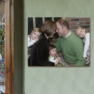Picture Perfect Family Photo Canvas