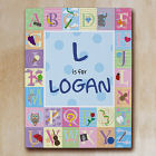 Personalized Alphabet Wall Canvas 913980X