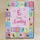 Personalized Alphabet Wall Canvas 913981X