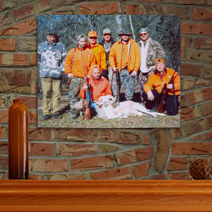 Picture Perfect Sportsman Photo Canvas