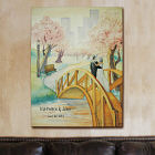 Personalized Wedding Stroll Wall Canvas