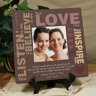 Personalized Mother's Inspiration Photo Canvas