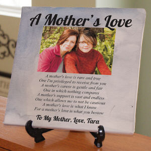 Personalized Mother's Day Photo Canvas