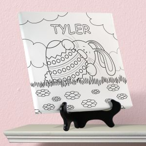 Personalized Easter Color Me Canvas Set