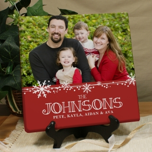 Christmas Photo Canvas