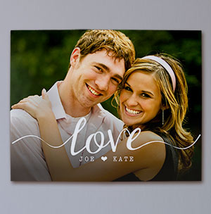 Love Photo Canvas