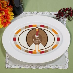 Personalized Thanksgiving Serving Platter