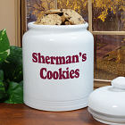 Any Message Personalized Ceramic Cookie Jar U367715