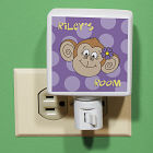Personalized Monkey Night Light U367911