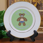 It's A Boy Personalized Birth Announcement Ceramic Plate U371412