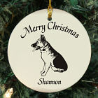 Dog Breed Personalized Ceramic Ornament U374810
