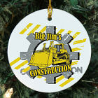Construction Worker Personalized Ceramic Ornament