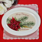 Personalized Ceramic Christmas Platter U378617