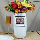 Personalized You and Me Photo Ceramic Vase U391118