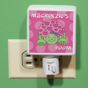 Personalized Turtle Night Light