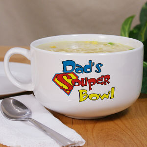Personalized Ceramic Souper Bowl Soup Bowl