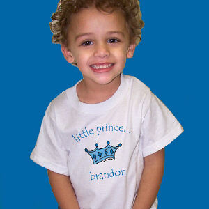 Little Prince Personalized Youth T-Shirt