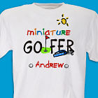 Miniature Golfer Youth T-shirt