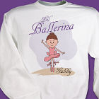 Lil' Ballerina Personalized Youth Sweatshirt