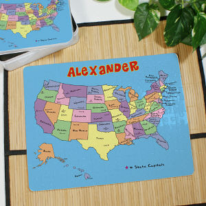Personalized United States Puzzle