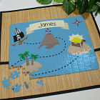 Personalized Pirates Treasure Map Jigsaw Puzzle