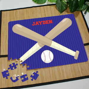 Personalized Baseball Jigsaw Puzzle