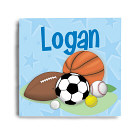 Custom Printed Sports Fan Wall Canvas 9136244