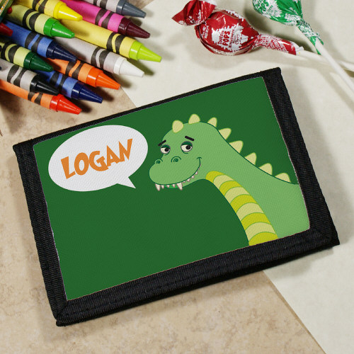 Personalized Dinosaur Wallet