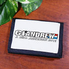 Personalized American Hero Wallet