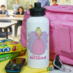 Personalized Princess Water Bottle