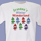 Winter Wonderland Personalized T-shirt