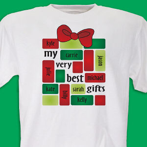 My Very Best Gifts Personalized Shirt