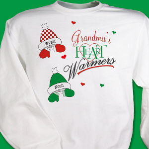 Personalized Heart Warmers Sweatshirt
