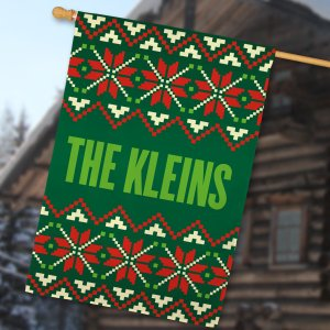 Christmas Sweater House Flag